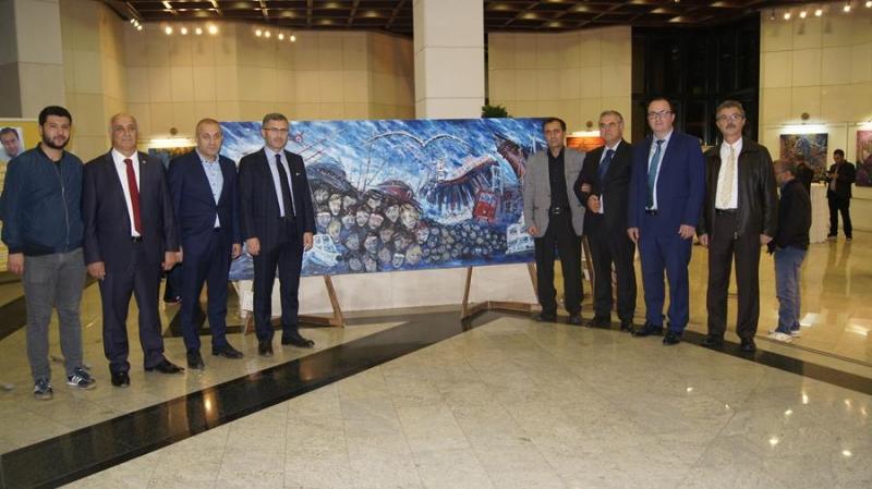 Benim İstanbul'um resim sergisi