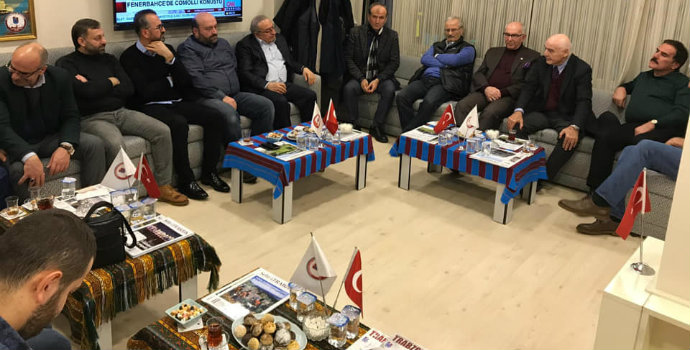 Anadolu Yakası Trabzonlular Derneği'nde ağır misafirler