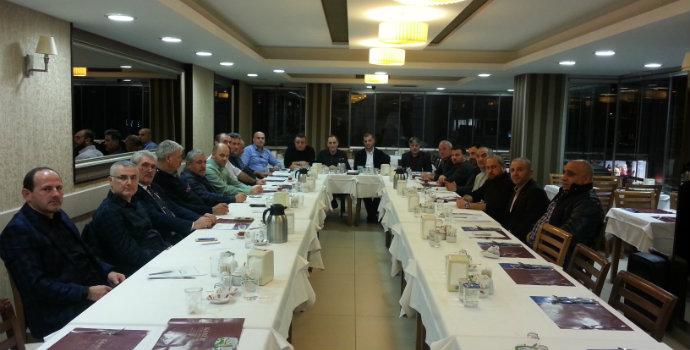 Maçka Dernekler Federasyonu ilk toplantısını gerçekleştirdi