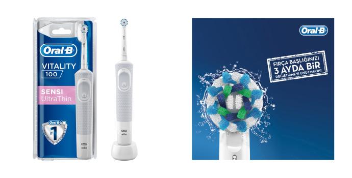 Oral B Diş Fırçası Avantajları