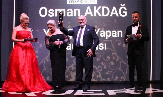 Trabzonlu baba-oğul ödül aldı