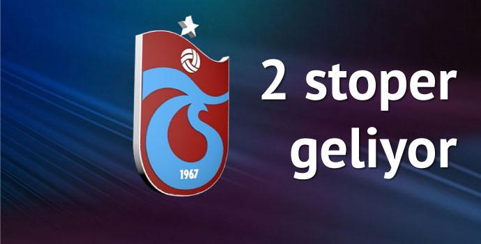 Trabzonspor 2 stoperi kadrosuna katmak üzere