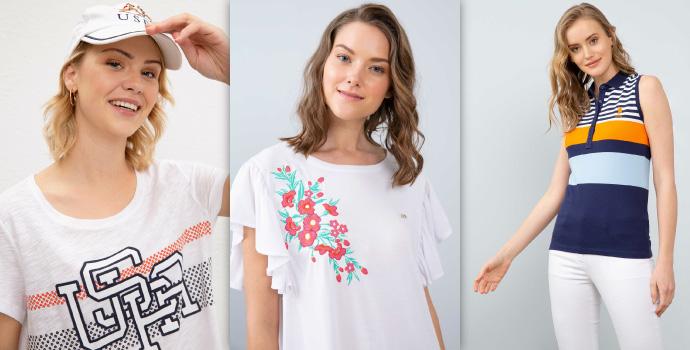 Zarif ve Rahat Kadın Tshirt Modelleri