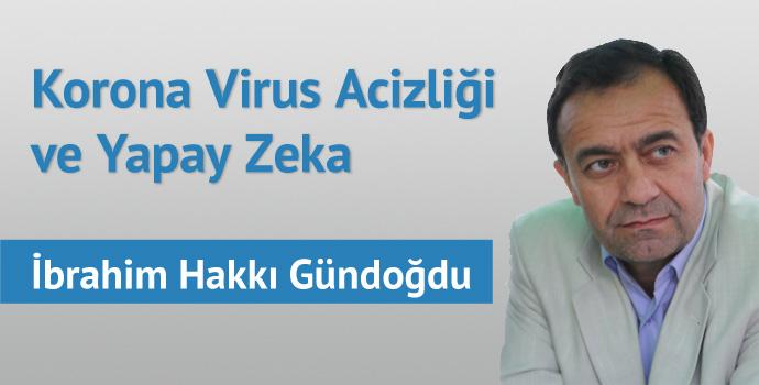 Korona Virüs Acizliği Ve Yapay Zekâ