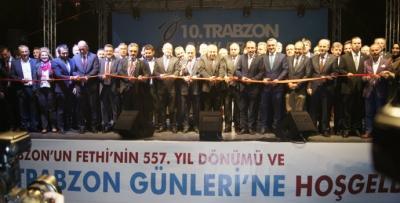 10. Trabzon Günleri resmi açılışla başladı