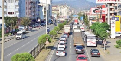 Akçaabat'ın trafik çilesi ne zaman bitecek?