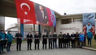 Özkan Sümer Futbol Akademisi düzenlenen törenle açıldı