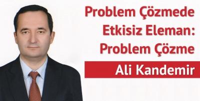 Problem Çözmede Etkisiz Eleman: Problem Çözme