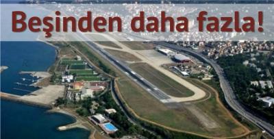 Trabzon havalimanı bölgede bir numara