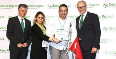 Trabzonlu iş kadınına büyük ödül