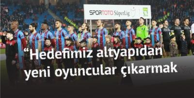 Trabzonspor nihayet doğru kaynağa yöneldi
