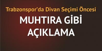 Trabzonspor'da muhtıra gibi açıklama!