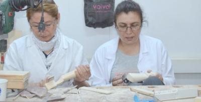 Trabzon'un oyuncakçı kadınları